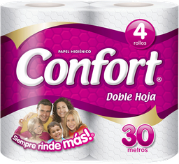 Confort Doble Hoja 30Mts 4Un