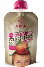 Pouch Ama Manzana Frambuesa Organica 90g