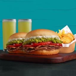 Promo Sándwich Doble