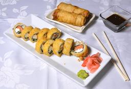 Sake Roll + 2 Arrollado Primavera
