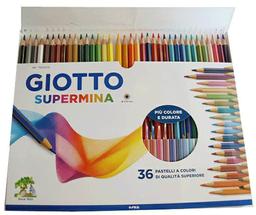 Lapices 36 Colores Supermina Giotto