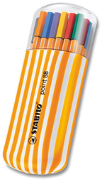 Set Roller Point 88 20 Colores Stabilo