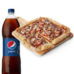Pizza Quad Roller con Bebida
