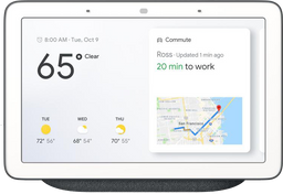 Google Home Hub Carbon