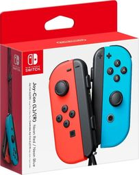 Joy Con Neon Red Blue