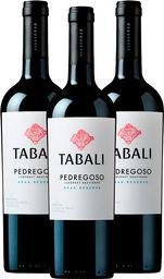 3x Vino Tabali Pedregoso Cabernet Sauvignon 750ml