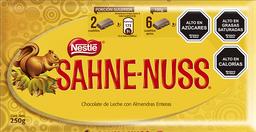Barra de Chocolate Sahne Nuss 250g