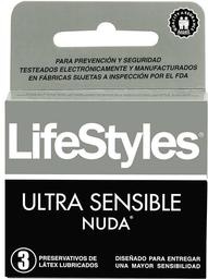 Preservativo Lifestyle Nuda x3