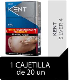 Kent Silver Cigarrillos Cajetilla 20Un