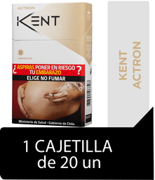 Kent Actron Cigarrillos Cajetilla 20Un