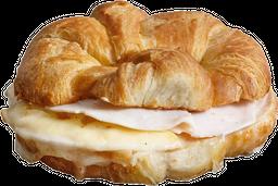 Croissant Jamon Queso Un
