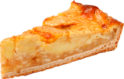 Porcion de Torta Manzana Un
