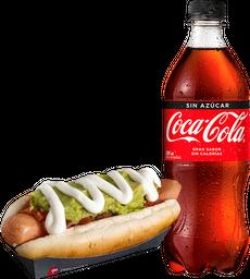 Combo Hot Dog Italiano + Bebida 591cc
