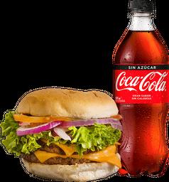 Combo Hamburguesa + Bebida 591cc