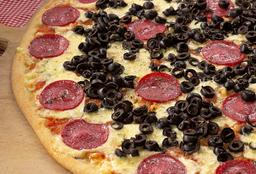Pizza Familiar Salame, Aceituna Diego's