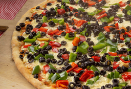 Pizza Familiar Morrón Aceituna Diego's