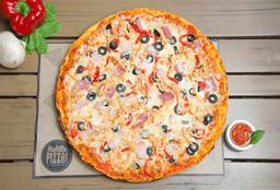 Pizza Mediana Maldito Gallo