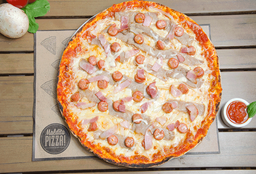 Pizza Familiar Maldita Gula