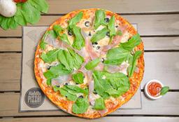 Pizza mediana maldito amor