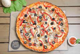 Pizza Mediana Maldito Infierno