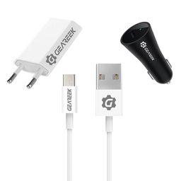 Kit Cargadores y Cable Micro USB