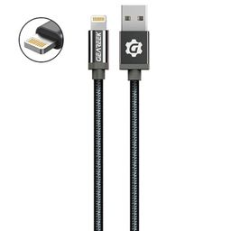 Cable Lightning (iPhone) Negro Premium Braided