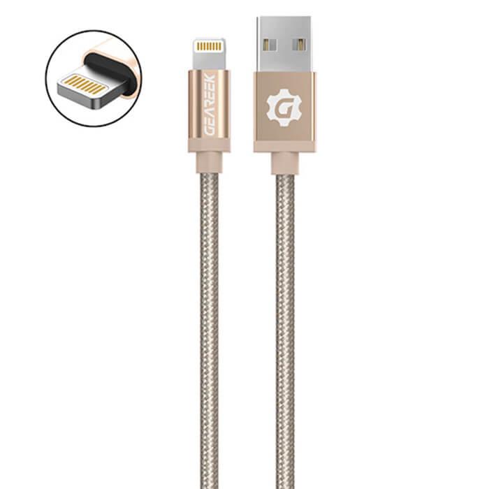 Cable Lightning (iPhone) Dorado Premium Braided