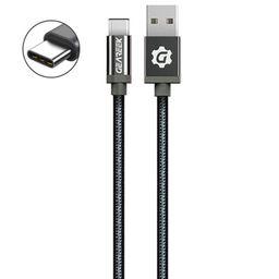 Cable Tipo C Negro Premium Braided