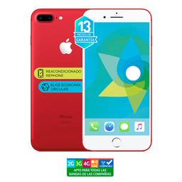 Apple Iphone 8 Plus 64Gb Rojo Reacondicionado (Garantía 13M)