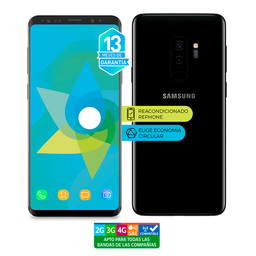 Samsung S9 Plus 64Gb Negro Reacondicionado (Garantía 13M)