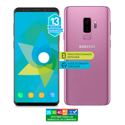 Samsung S9 Plus 64Gb Púrpura Reacondicionado (Garantía 13M)