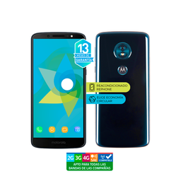 Motorola Moto G6 Play 32 Gb Azul Reacondicionado