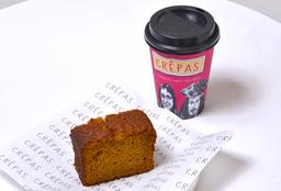 Queque Zanahoria + Café