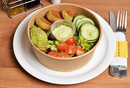 Ensalada Vegana de Falafel