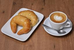 Café o Té + 2 Medialunas