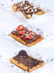 2 Waffles Dulces