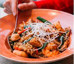 Thai Pasta W/ Shrimps