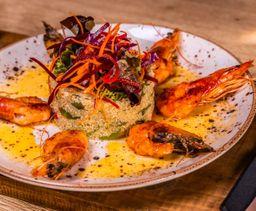 Quínoa & Shrimp Salad