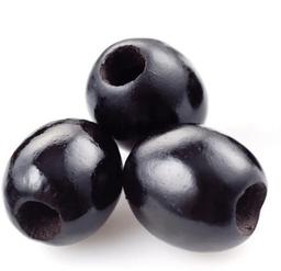 Aceituna Deshuesada Negra Pote 350g