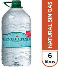 Agua Benedictino 6lt