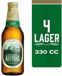Four Pack Cerveza Austral Long Neck 330cc