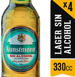 Four Pack Cerveza Kunstman Sin Alcohol