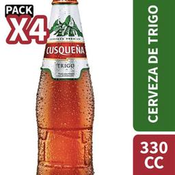 Cerveza Trigo Cusqueña 4Pack 330cc