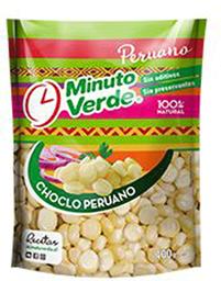 Choclo Peruano Minuto Verde 400g