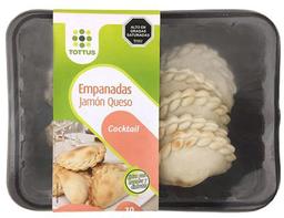 Empanada Cocktail Jamon Queso 10Un