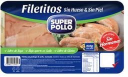 Filete Pollo S/H S/P Pet 830 Super Pollo