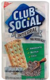 Galleta Multicereal Club Social 216g