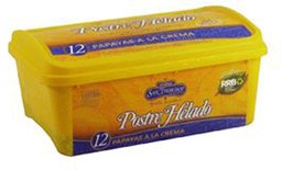 Helado Papayas Crema 1lt