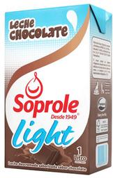 Leche Chocolate Soprole Light 1lt