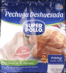 Pechuga Deshuesada Pollo Congelada 700g Super